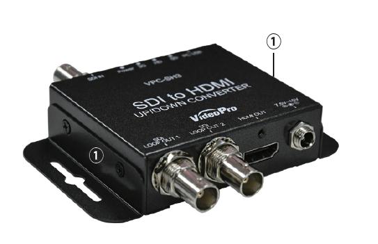 VPC-SH3 (VideoPro) サイドパネル